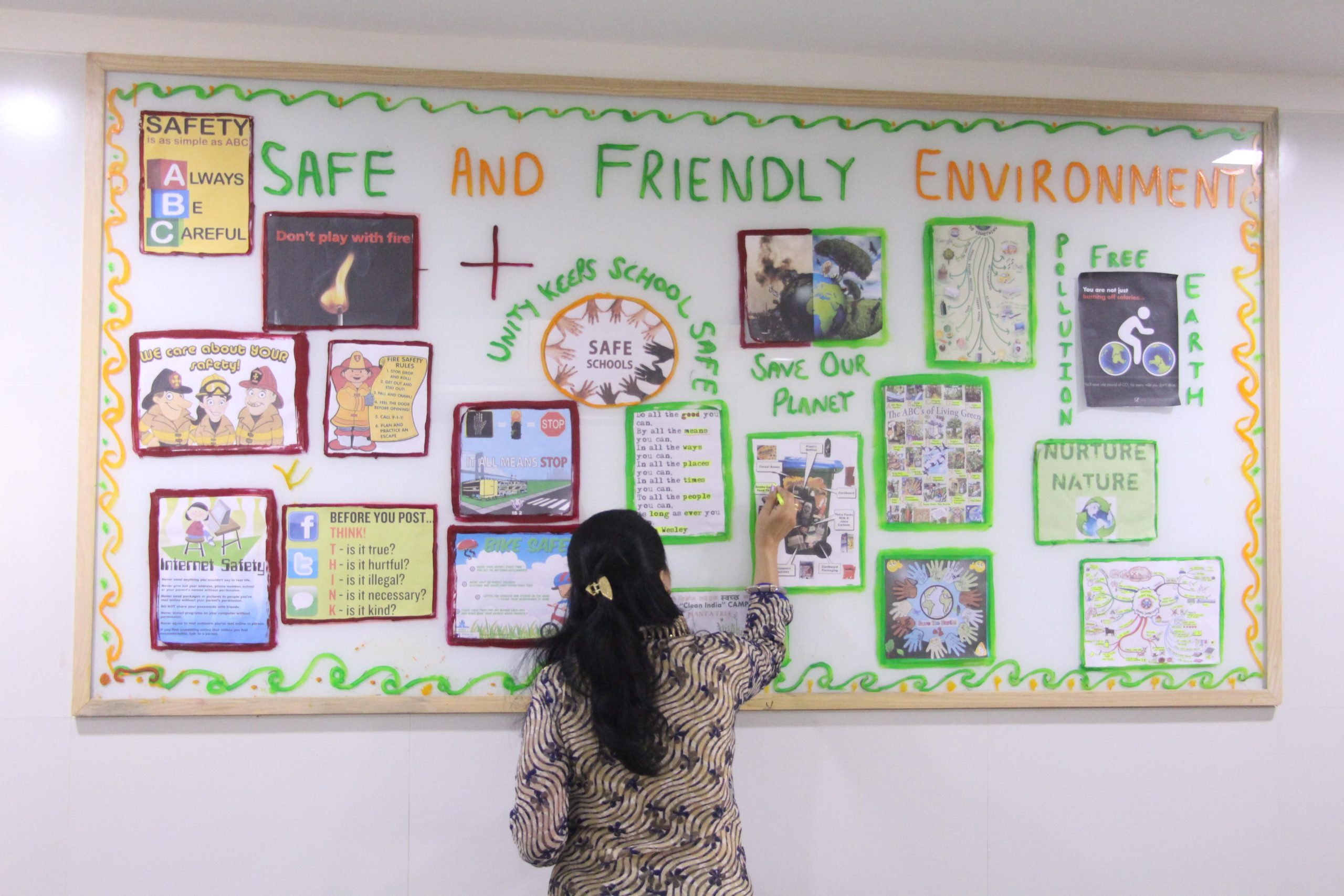 A Safe, Stirring Learning Environment